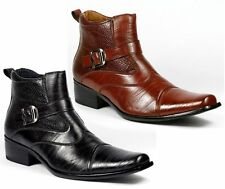 Men's Synthetic Ankle Boots