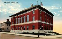 Eureka CA Post Office Postcard unused 1900s/10s