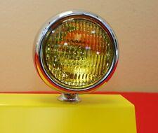 "5"" Round Amber Yellow Fog Light Vintage Single Antique"