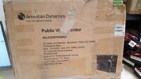 "American Dynamics 32"" Public View LCD Monitor 1920 X 1080 ADLCD32PPS0BAG"