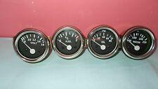 "2"" /52mm Electrical Oil Pressure + Temperature + Volt+ Fuel Gauge -CHROME"