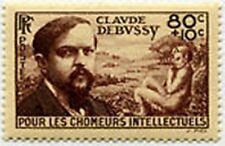 "FRANCE STAMP TIMBRE N° 462 "" ORPHELINS ,  CLAUDE DEBUSSY 80C +10C "" NEUF x TB"