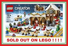 LEGO Winter village Christmas SANTA'S WORKSHOP 10245 ELF REINDEER SLEIGH SET NEW