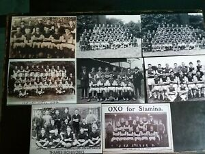 "WEST HAM UNITED + THAMES IRONWORKS teams 8 different 6""x4"" Photographs  REPRINTS"