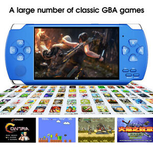 8GB 4.3'' Retro Handheld Game Console Portable Video Game Built-in 10000+ Games√