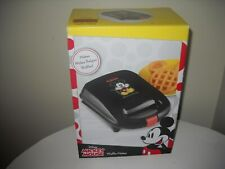 Mickey Mouse Disney Non Stick Waffle Maker New In Box