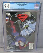 SUPERMAN/BATMAN #22 (Batman Beyond 1st app in DC continuity) CGC 9.6 NM+ 2005