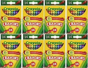 Crayola 52-3024 Crayons - 24 Count (8)
