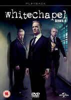WHITECHAPEL COMPLETE SERIES 4 DVD Fourth Season White Chapel UK Release New R2