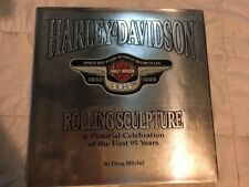 Harley Davidson Rolling Sculpture First 95 Years Hardcover Book Motorcycles