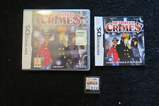DS : METROPOLIS CRIMES - Completo, ITA ! Il crimine non paga ! Comp 3DS e 2DS