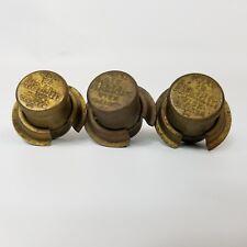 Vintage Aladdin Oil Model 12 Wick Cleaner Knobs Lot of 3