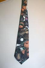 Men's Collectible Ralph Marlin 1987 Necktie Tie Wild Ducks Made in USA