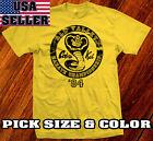 COBRA KAI Karate Kid Sweep movie Leg Kung Fu T-Shirt 1984 Valley Championship
