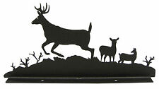 Buck Deer Mailbox Topper Decor Side View