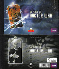 Gb 2013 Mnh Dr Who 50 Years Bbc Prestige Booklet Daleks David Tennant Stamps