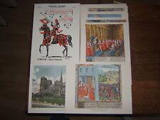 LA DOCUMENTATION EN COULEURS PEDAGOGIE MOYEN-AGE EGLISE UNIVERSITE 1953  R2936