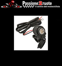 presa di corrente 12v moto bike it navigatore smartphone batteria usb doppio