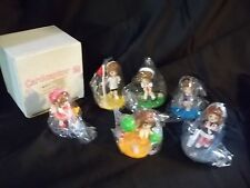 CARDCAPTOR SAKURA 6 MINI FIGURINE LOT NEW IMPORT FIGURES anime clamp