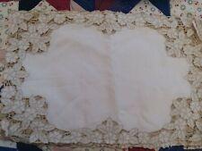 Gorgeous Vtg Madeira richelieu Linen placemats Embroidered Cutwork set of 6