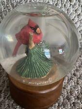 Ll Bean Midwest of Cannon Falls B. Mcfadden Cardinal Snowglobe