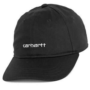 Carhartt WIP Script Adjustable Cap black -  Strapback Kappe schwarz - OSFA