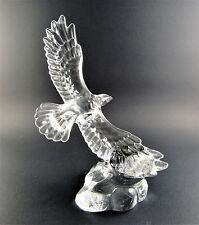 Princess House Wonders of Wild Soaring Eagle Bird Crystal Figurine Paperweigt