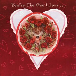 Lovely Hallmark Country Companions Hedgehog ~ Valentine's Day card