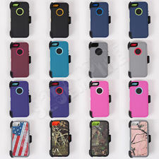 For iPhone 5S/SE Defender Case 2017 1st Generation (Belt Clip Fits OtterBox)