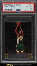2007 Topps Chrome Kevin Durant ROOKIE RC #131 PSA 8 NM-MT
