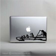 Outrigger Canoe Laptop Vinyl Decal,macbook pro skin,Hawaiian,bangka,Polynes