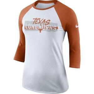 Texas Longhorns Women's Nike Raglan 3/4 Sleeve Tee - FREE SHIPPING!