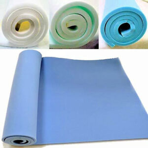 "UPHOLSTERY FOAM SHEET HIGH DENSITY & MEDIUM DENSITY 60"" x 20"" ANY THICKNESS SIZE"