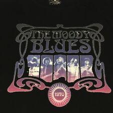 Moody Blues Men/'s  Silhouette T-shirt Black Rockabilia