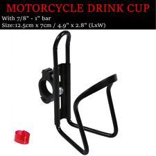 Black Drink Cup Holder For Harley Street Tour Electra Road Glide King