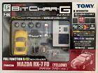 TOMY R/C Bit Char-G Tomica -MAZDA RX-7 FD (Yellow) - 45 Mhz - G-06 - Japan