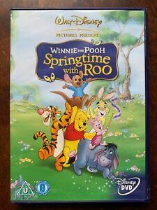 Winnie L'Ourson Printemps Avec Roo DVD 2000 Walt Disney Famille Papier Film