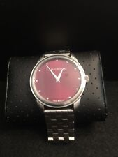 Android Ad414 Burgundy Dial Men's Watch
