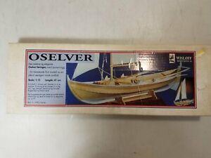 Vintage Wisloff Oselver Boat Model Kit
