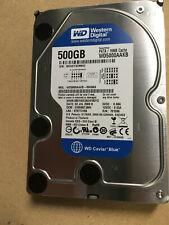 "Western Digital Blue 500GB WD5000AAKB PATA 3 1/2"" Hard Drive 16MB Cache"