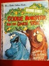 Cookie Monster and the Cookie Tree (Little Golden Books) - Hardcover - GOOD