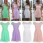 New Formal Women Lace Dress Prom Evening Party Cocktail Bridesmaid Wedding