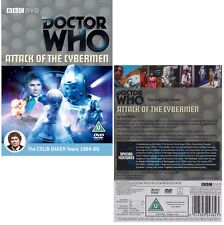 DR WHO 137 (1985) - ATTACK OF THE CYBERMEN - Doctor Colin Baker - R2 DVD not US