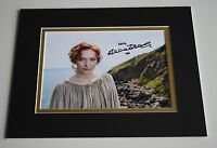 Eleanor Tomlinson Signed Autograph 10x8 photo display Poldark TV AFTAL COA