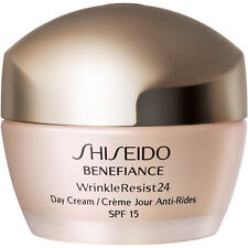 SHISEIDO  Benefiance WrinkleResist24 Day Cream Broad Spectrum SPF15  50ml 1.8oz