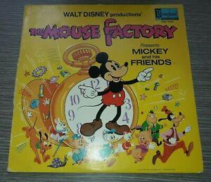 Walt Disney The Mouse Factory LP Record 1972 VG/VG+