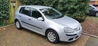 VW Golf. 1.6 FSI. Manual 6 Speed. 2004 (Mk5).