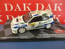 Die cast 1/43 Modellino Auto Toyota Corolla WRC Rally Monte Carlo 2000 P.Zanchi