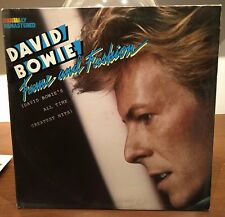 David Bowie – Fame And Fashion  Lp Italy 1984 With Best Buy Catalog VG++/VG+