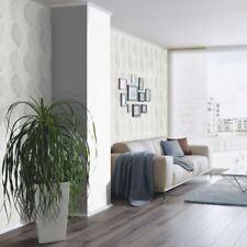 Erismann Scandinja Leaves Pattern Wallpaper Embossed Floral Leaf Metallic Motif